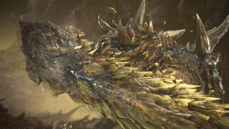 ディノバルド亜種の硫晶状態の画像です。